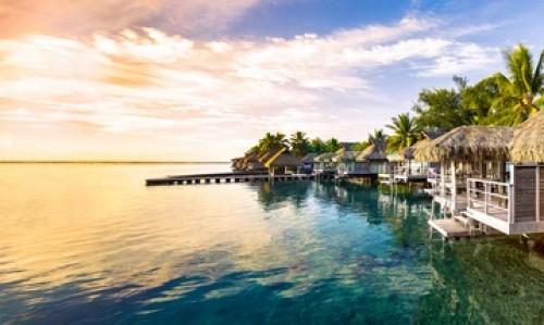 Bahamas, Urlaubshäuser am Wasser